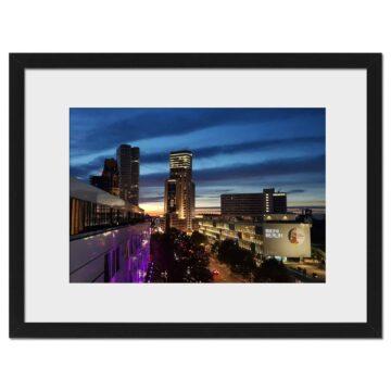 Berlin Blue Sky - Digital print by Lee Rickler