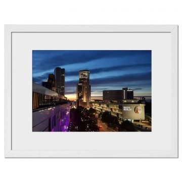 Berlin Blue Sky - Digital print by Lee Rickler