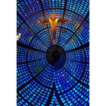 Blue Zoom - Print by Lee Rickler