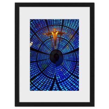 Blue Zoom - Digital print by Lee Rickler