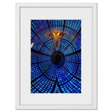 Blue Zoom - Digital print by Lee Rickler