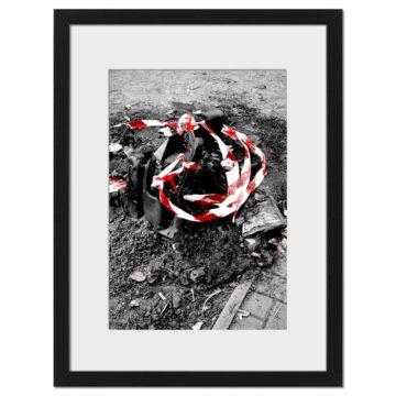 Burn Red - Digital print by Lee Rickler