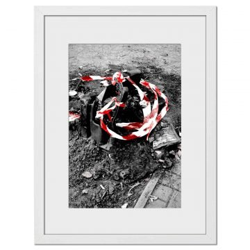 Burn Red - Digital print by Lee Rickler