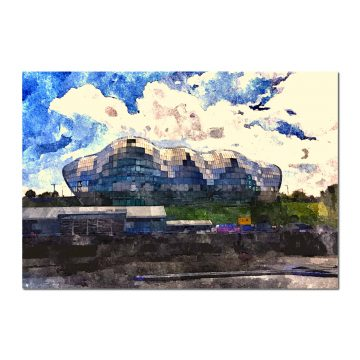 Sage Gateshead - Digital print by Lee Rickler