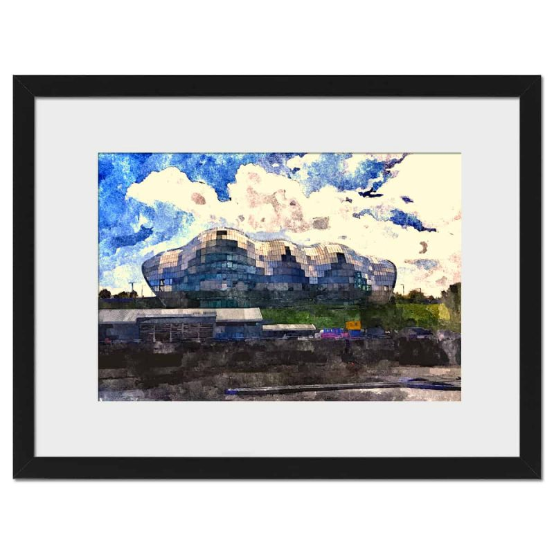 Sage Gateshead - black frame