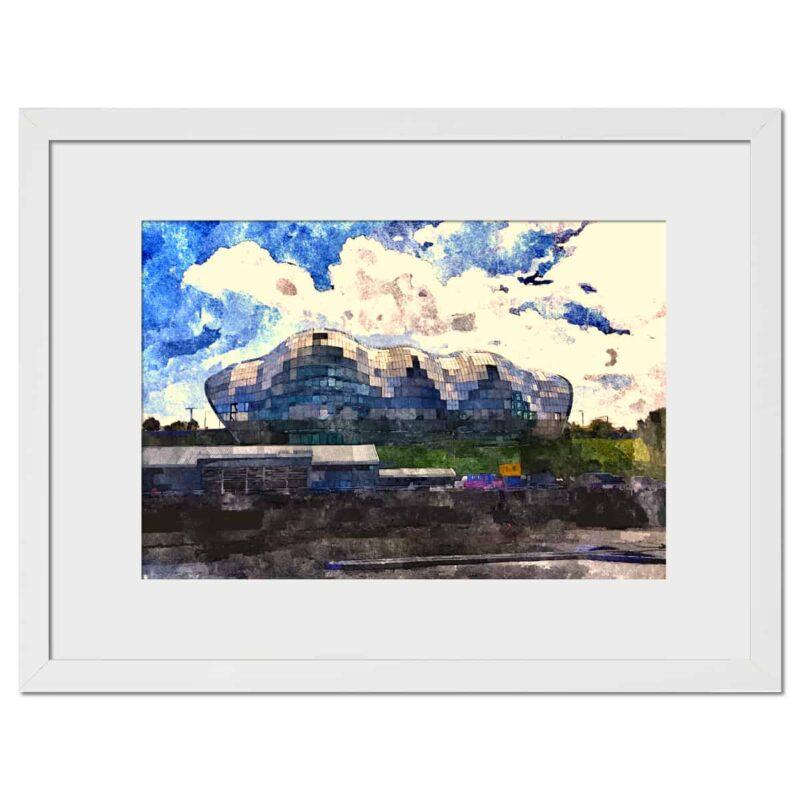 Sage Gateshead - white frame